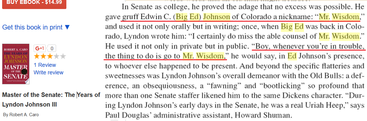 Big Ed Lyndon Johnson