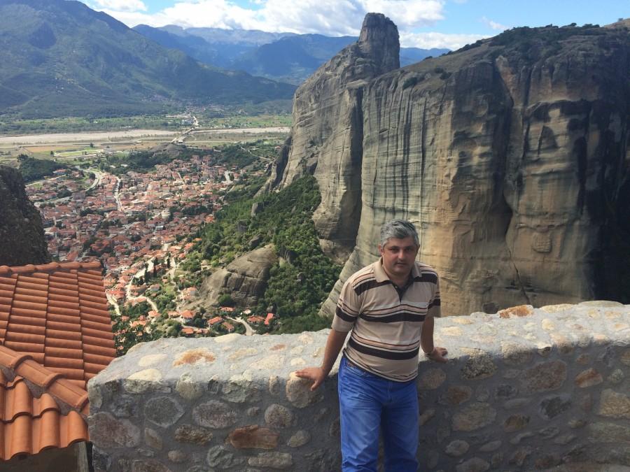 Монастыри Метеоры. Троицкий монастырь