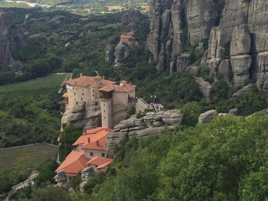 Метеора. Экскурсия в монастыри