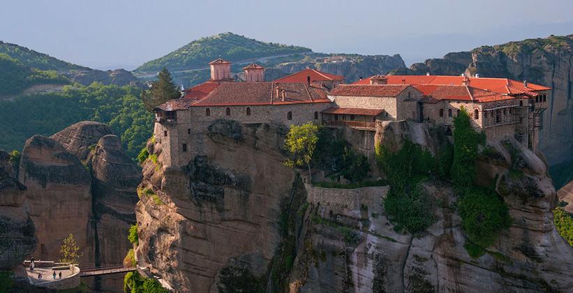 Метеора. Монастырь св.Стефана
