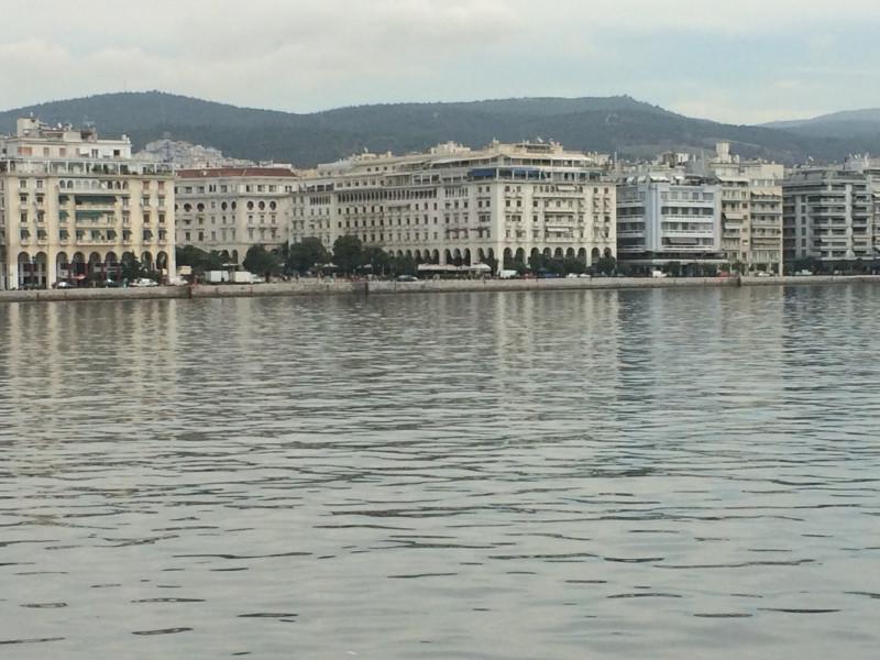 Салоники. Вид с моря