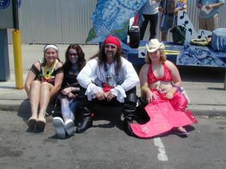 Happy Parade Participants