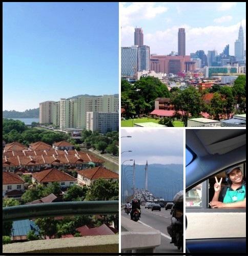 на автомобиле в пинанг и куала лумпур