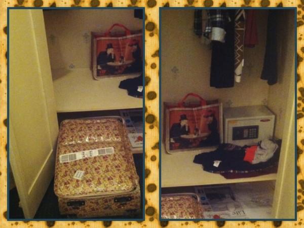 14 - шкаф и чемодан