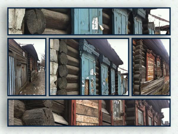 24 - заброшенные дома с наличниками
