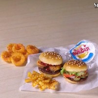 Обед из Бургер Кинг