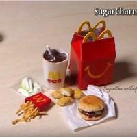 Обед из Макдональдса