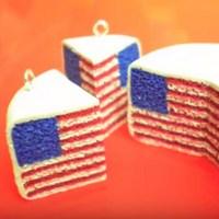Торт-флаг