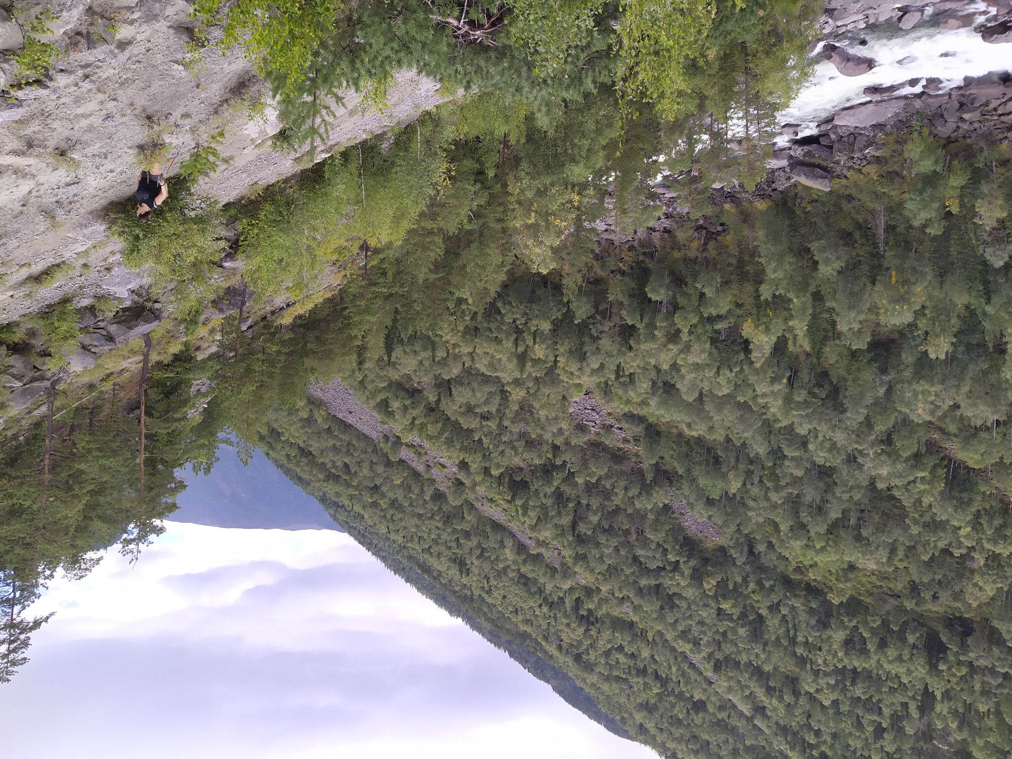Добраться (доползти) до водопада Учар