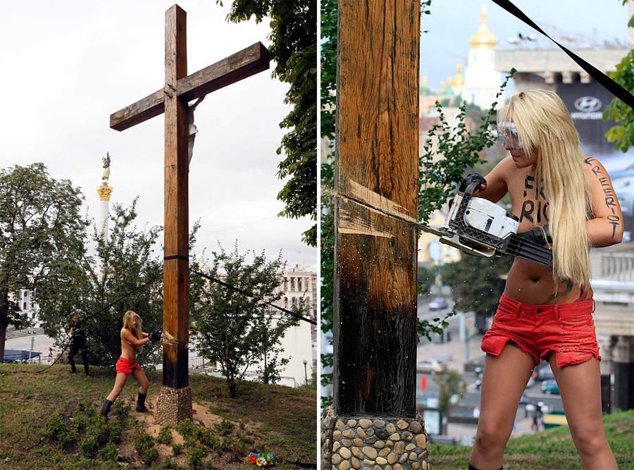 крест_femen