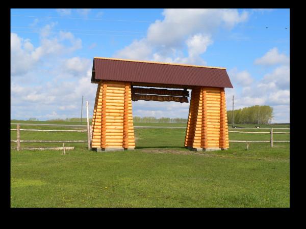 Ворота в Заволокинскую деревню