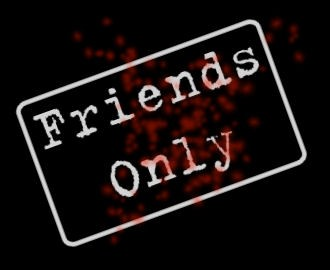 Friends-only