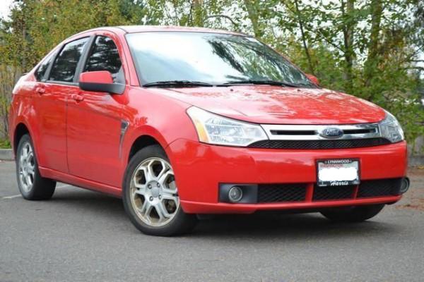 The new car: beauty shot