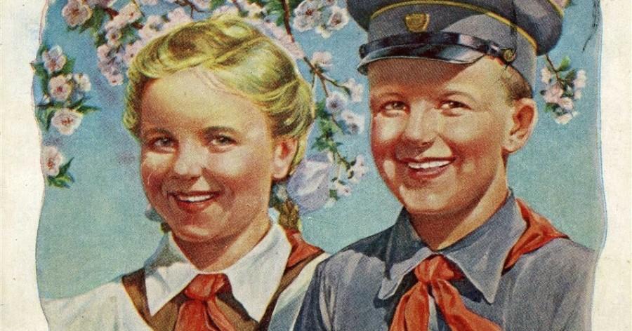 рабочий день пионерии старинные открытки что него жены