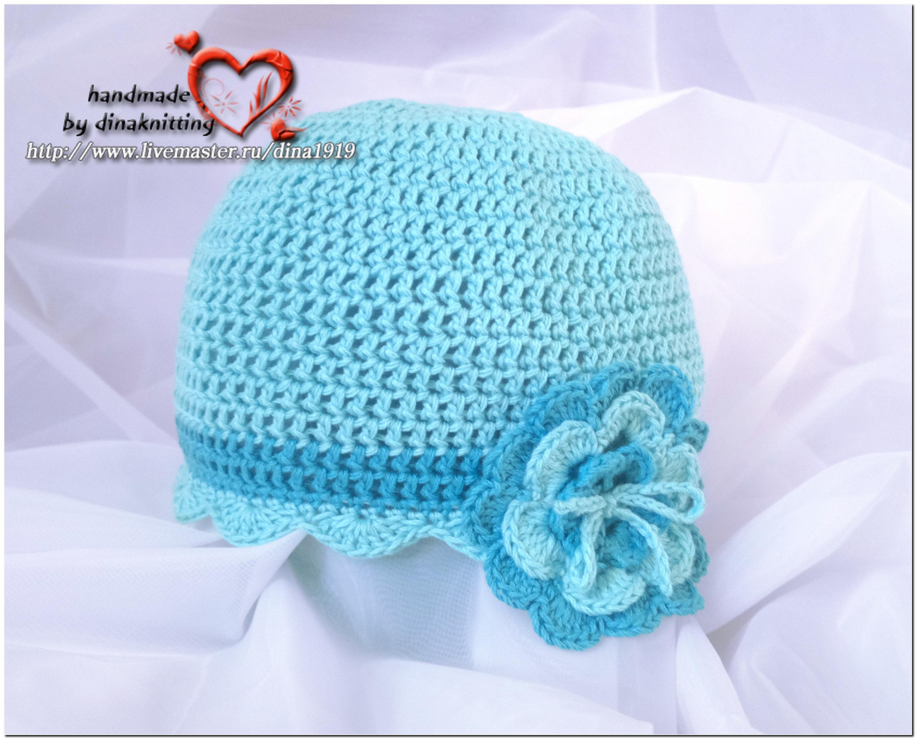 Сайты по вязанию крючком для новорожденных шапочки