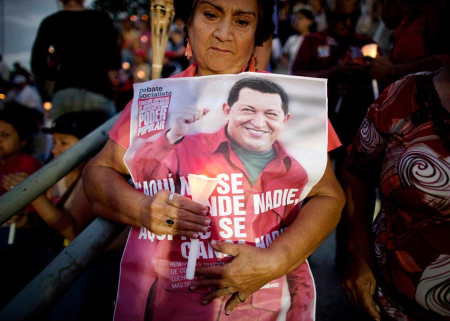 Народная любовь к Уго Чавесу