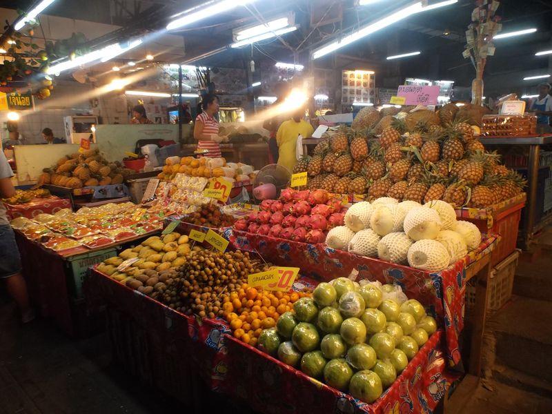 фрукты тайланд