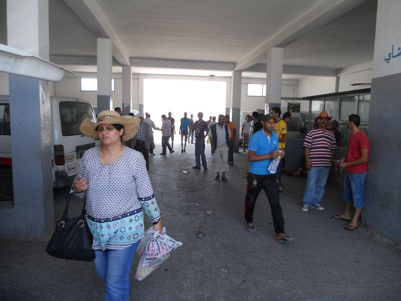 автостанция тунис