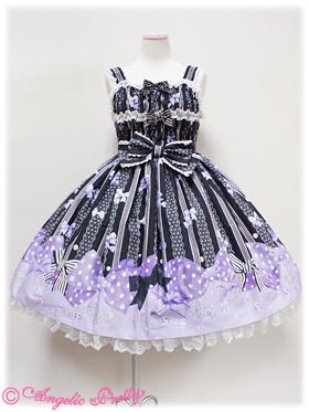 Angelic Pretty Jewel Ribbon Shirring JSK