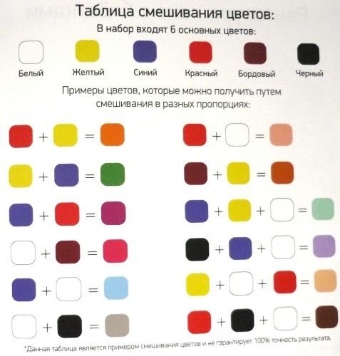 Как из гуаши сделать серый цвет из красок