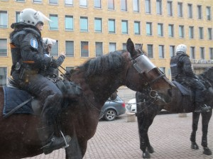 Helsinki Police on Guard