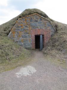 Suomenlinna Island - old bunker