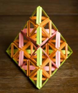 Laterne V.4 (fractal Sierpinski) (96 + 48) 2