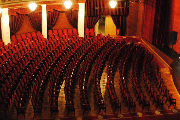 Фото бельэтажа театра эстрады