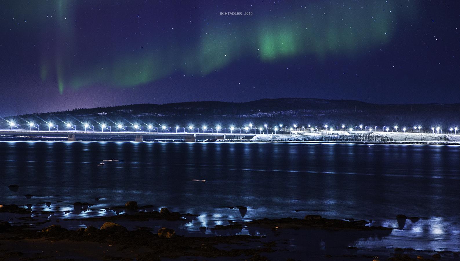 Мост мурманск фото