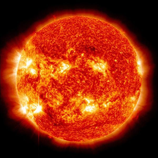 солнечная вспышка 13.11.2012