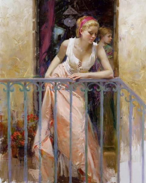 Pino Daeni 1939-2010 -  Italian Impressionist painter - Tutt'Art@ (11)
