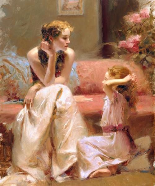 Pino Daeni 1939-2010 -  Italian Impressionist painter - Tutt'Art@ (13)