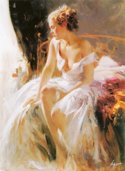 Pino Daeni 1939-2010 -  Italian Impressionist painter - Tutt'Art@ (23)