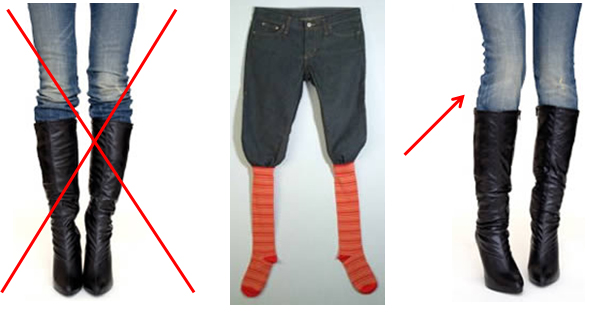 Boot Sock Jeans