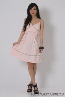 hh pink dress