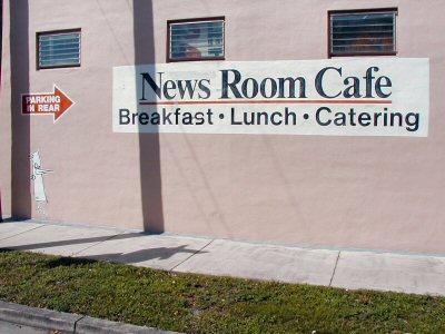 Newsroom Cafe.
