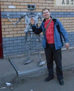 Я механический робот, со мною проделайте опыт