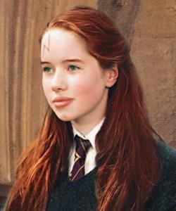 girl!Harry in Gryffindor sweater