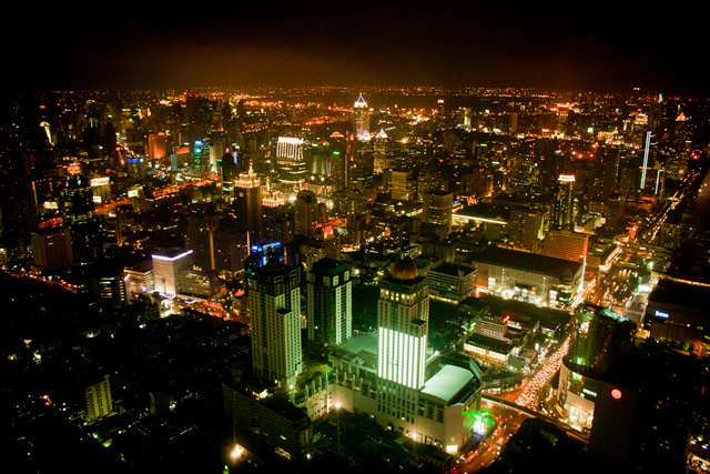 Другой Бангкок. Часть первая - Байок Скай