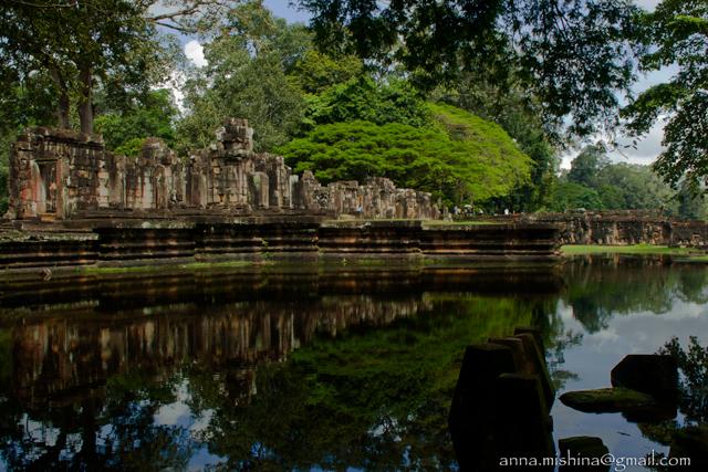 По следам древних кхмеров. Ангкор Том