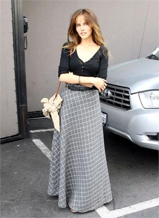 bd0cbed966c Как носить длинную юбку  с чем её сочетать