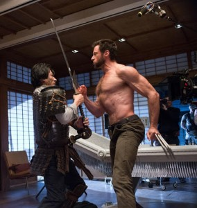 New Photo From The Wolverine with Hugh Jackman and Hiro Sanada