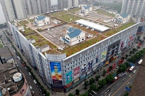Виллы на крыше торгового центра, Чжучжоу, Китай