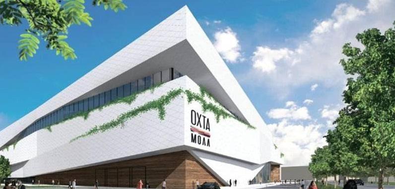Началось строительство торгового центра «ОХТА Молл»