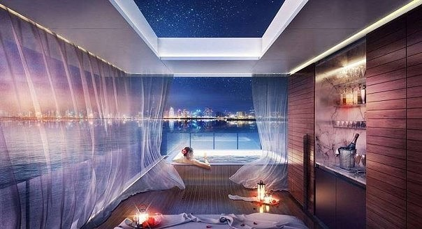 В Дубае построят подводный жилой комплекс