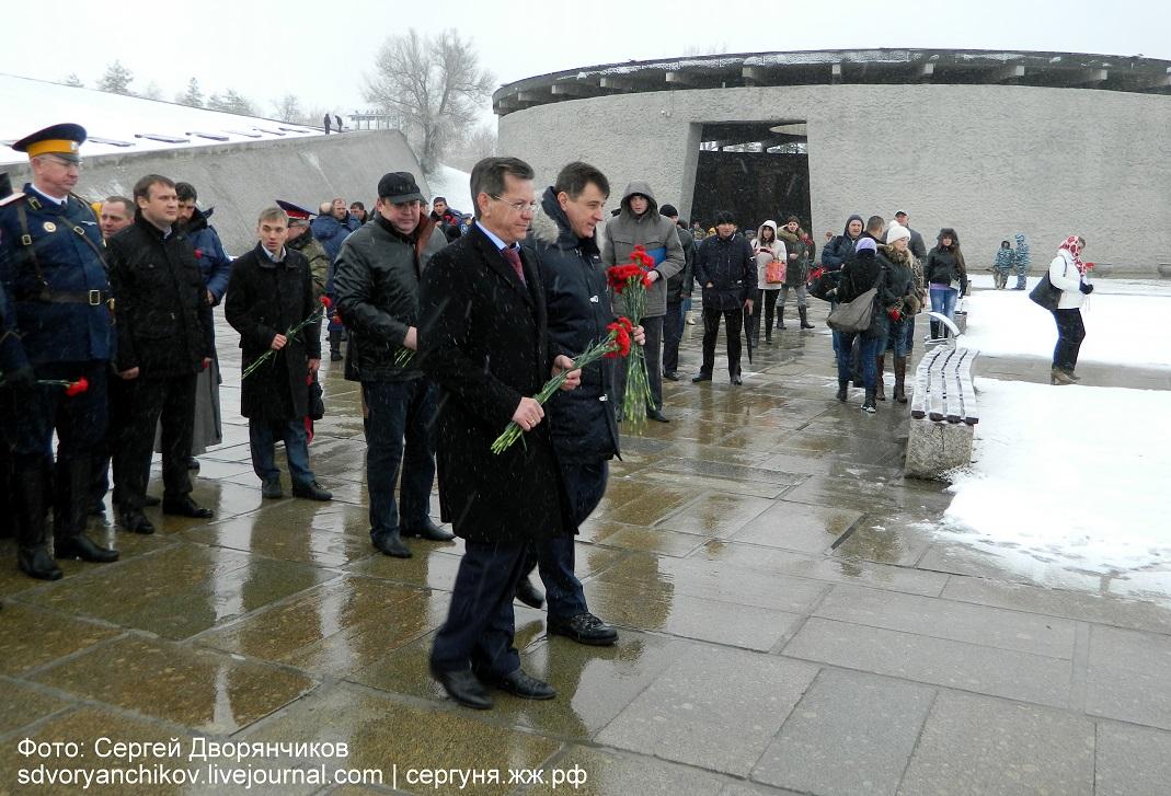 Волгоград - Казаки на Мамаевом кургане 29 марта (18)