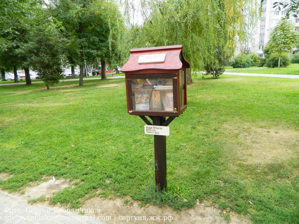 библиотека в сквере Саши Филиппова (4)