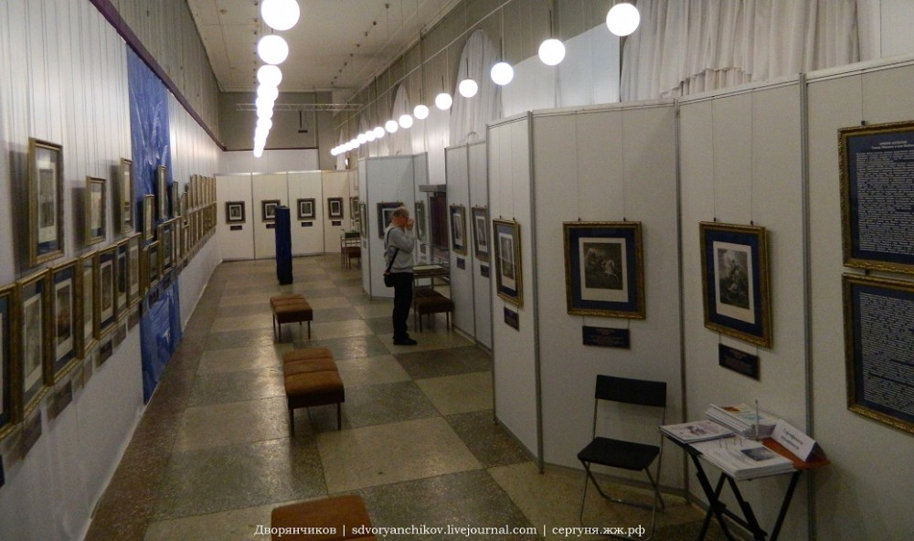Музей ИЗО Машкова 16 янв 2015 Гравюры (4)