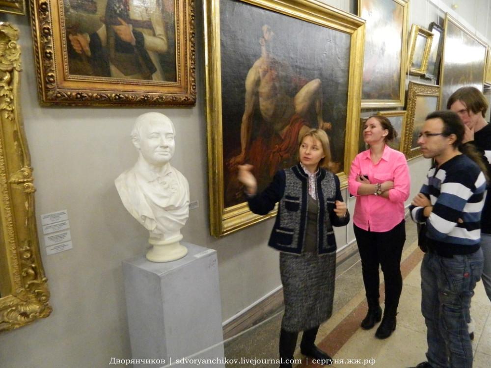 музей Машкова - живопись-скульптура (13)