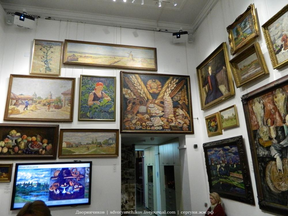 Волгоградский музей ИЗО - Интерактивная мастерская И И Машкова (6).JPG